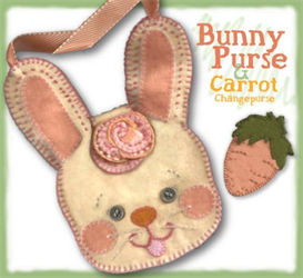 The Bonnie Bunny Pocketbook Pattern | eBooks | Arts and Crafts