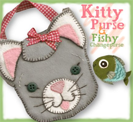 The Karolina Kitty Pocketbook Pattern | eBooks | Arts and Crafts
