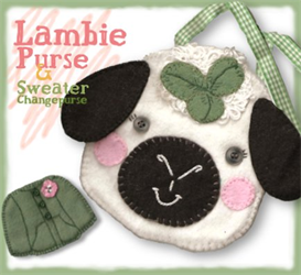 The Lillian Lambie Pocketbook Pattern | eBooks | Arts and Crafts