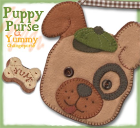 The Patrick Puppy Pocketbook Pattern | eBooks | Arts and Crafts