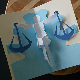 Libra- EasyCutPopup | eBooks | Arts and Crafts
