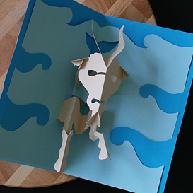 Capricorn/Sea Goat- EasyCutPopup | eBooks | Arts and Crafts