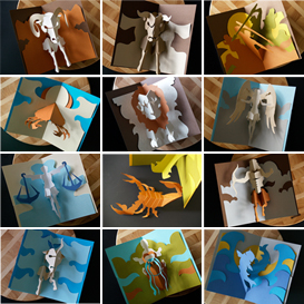 Zodiac Series - EasyCutPopup | eBooks | Arts and Crafts