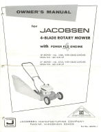 Jacobsen 4-BLADE ROTARY MOWER with POWER FLO  ENGINE | Other Files | Documents and Forms