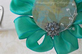 Ribbon Flower:  Ribbon Spool Redux | eBooks | Arts and Crafts