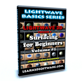 Lightwave 9 Surfacing Volume #1 | Movies and Videos | Educational