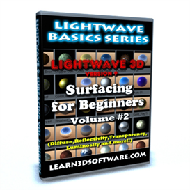 Lightwave 9 Surfacing Volume 2 | Movies and Videos | Educational