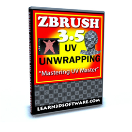 ZBRUSH 3.5 -UV Unwrapping-Mastering UV Master