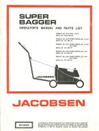 Jacobsen Super Bagger Lawn Mower Operator's Manual | Other Files | Documents and Forms