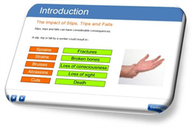 Slips, Trips & Falls E-learning Course