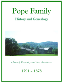 Pope Family History and Genealogy | eBooks | History