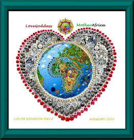 Love Goddess Mother Africa Earth Nature | Other Files | Arts and Crafts