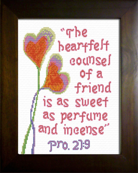 First Additional product image for - Heartfelt - Proverbs 27:9