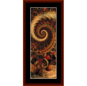 Fractal 276 Bookmark cross stitch pattern by Cross Stitch Collectibles | Crafting | Cross-Stitch | Other