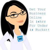 Get Online In 24hrs For Under 24 Bucks!