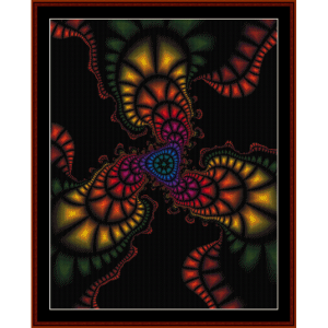 Fractal 272 cross stitch pattern by Cross Stitch Collectibles | Crafting | Cross-Stitch | Other