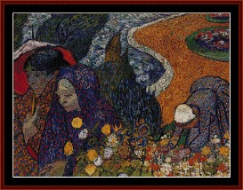 Ladies of Arles - Van Gogh cross stitch pattern by Cross Stitch Collectibles | Crafting | Cross-Stitch | Other