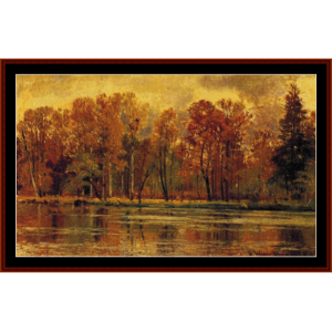 Indian Summer - Shishkin cross stitch pattern by Cross Stitch Collectibles | Crafting | Cross-Stitch | Wall Hangings
