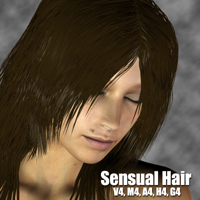 Sensual Hair | Software | Design