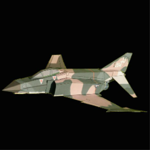 Paper F-4E US Air Force | Crafting | Paper Crafting | Paper Models