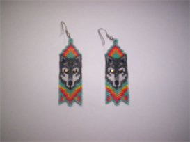 BRICK STITCH EARRING PATTERNS « Free Patterns