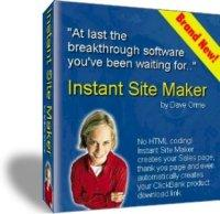 ClickBank Instant Site Maker | Software | Design