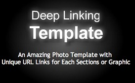 Deep Linking Template | Software | Design Templates