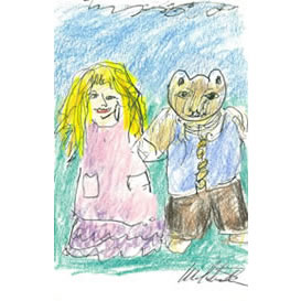 goldilocks, teddy bear and the little witch-story & lesson plan