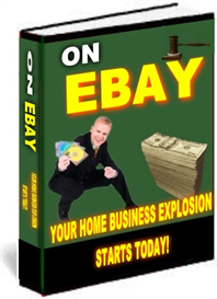 your home business explosion on ebay ebooks cd