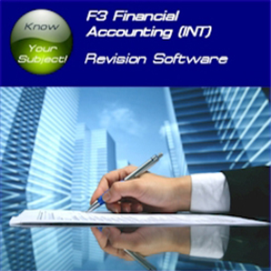acca f3 financial accounting (int) revision software sti