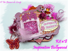 FT KIT 8 - INSPIRATION BOLLYWOOD - Un Amour de Scrap