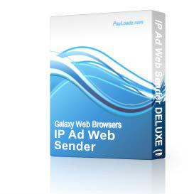 IP Ad Web Sender DELUXE (Make your income come rolling in) | eBooks | Business and Money