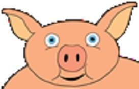 Cartoon Pig | Other Files | Clip Art