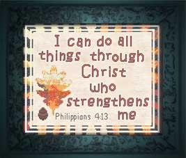 Strengthens 8 x 10 - Chart | Crafting | Cross-Stitch | Other