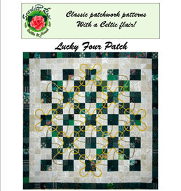 Lucky Four Patch | Crafting | Sewing | Quilting
