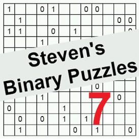 binary puzzles 07