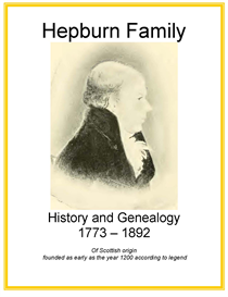 Hepburn Family History and Genealogy | eBooks | History