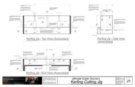 Kerfing Cutting Jig | Other Files | Patterns and Templates