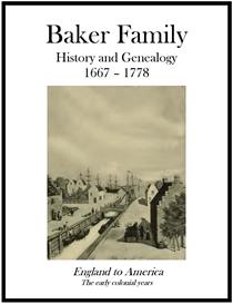 Baker Family History and Genealogy | eBooks | History