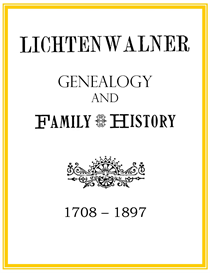 Lichtenwalner Family History and Genealogy | eBooks | History