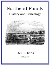 Northend Family History and Genealogy | eBooks | History