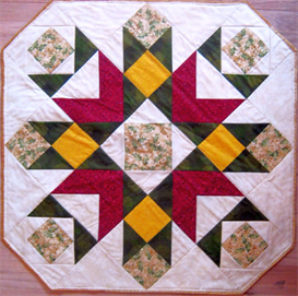 Blooming Beauty Tabletopper or Lap Quilt | Other Files | Arts and Crafts