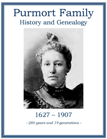 Purmort Family History and Genealogy | eBooks | History
