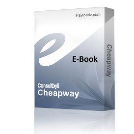 Cheapway | Audio Books | Business and Money