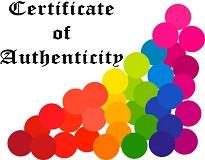 Certificate Of Authenticity Form  for Original Artworks and Paintings | Other Files | Arts and Crafts