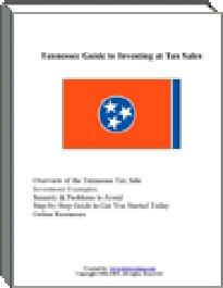 Tennessee Guide to Investing at Tax Sales | eBooks | Business and Money