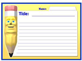 Write All About It Stationery Set   Other Files   Documents and Forms