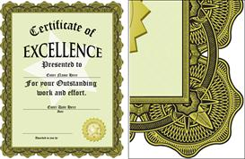 Award of Excellence Certificate | Software | Design Templates