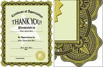 award of appreciation certificate