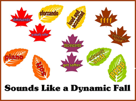 Sounds Like a Dynamic Fall Bulletin Board Kit | Other Files | Patterns and Templates